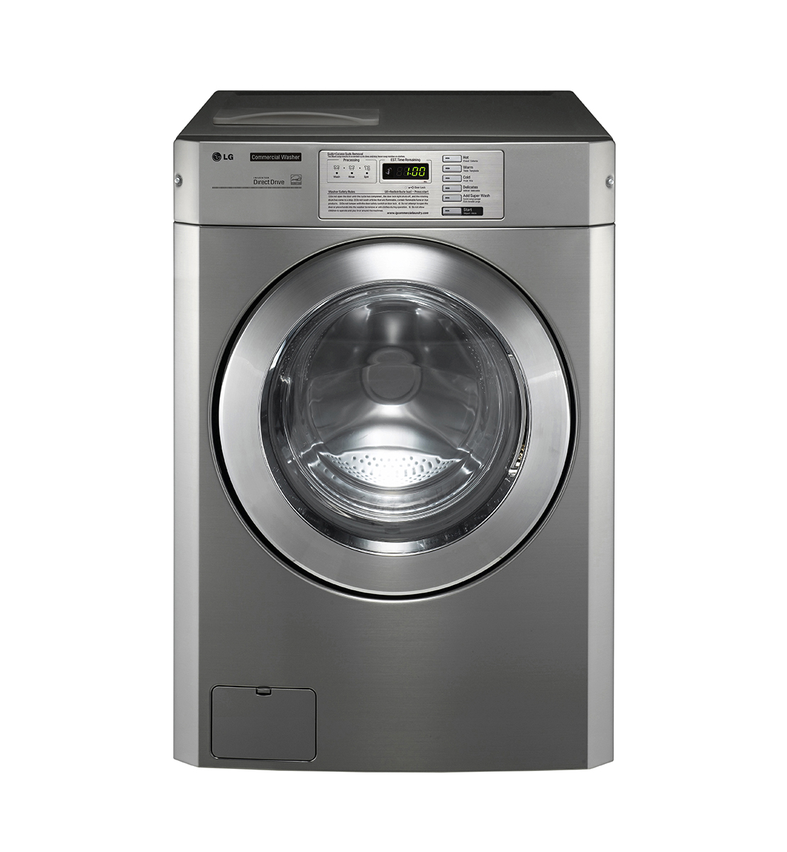 Lg Commercial Giant C Platinum Washer Non Coin