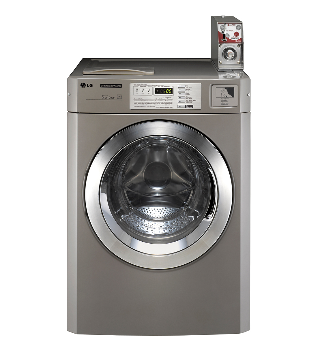Choice Motor Credit >> LG Commercial Titan C Washer (Coin Operated)
